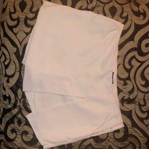White envelope skirt / skort